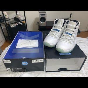 Air Jordan Retro 11 Legend Blue